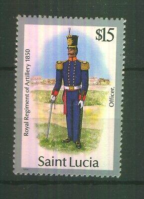 Saint Lucia 1985 SG 811 MNH 100% Military Uniforms $15