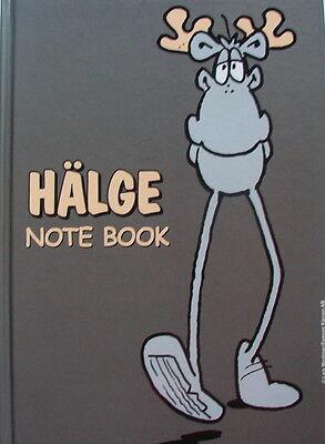 Notizbuch Schreibheft Hälge Comic Elch Schweden