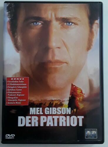DVD Der Patriot    Mel Gibson  Roland Emmerich  Heath Ledger