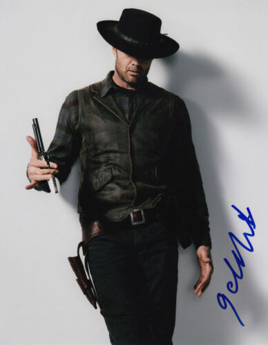 Garret Dillahunt signed Fear the Walking Dead 10x8 photo AFTAL & UACC [16452]
