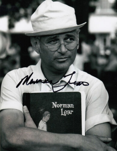 Norman Lear authentic signed All in the Family 10x8 photo AFTAL & UACC [15744]