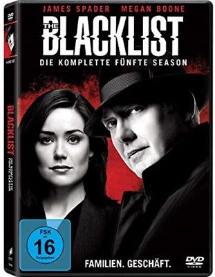 The Blacklist Staffel 5 NEU OVP 6 DVDs