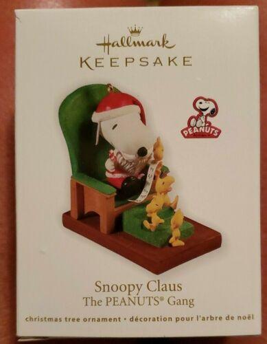 Hallmark Keepsake Snoopy Claus The Peanuts Gang   2011
