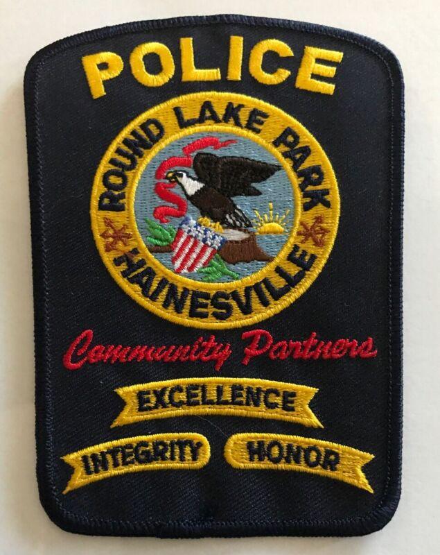 Round Lake Park Hainesville Illinois Police Shoulder Patch