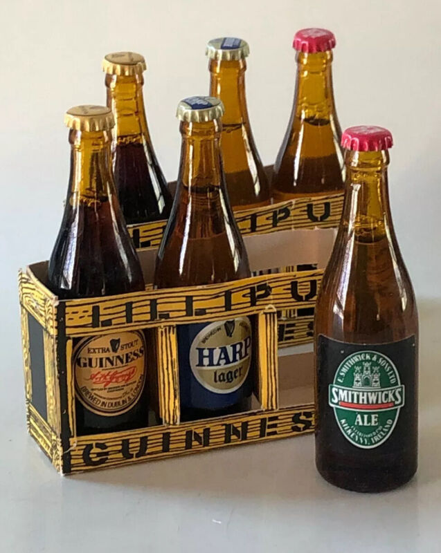 Lilliput Guinness Collectibles Advertising Memento Gift Pack of Three x 2