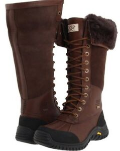 UGG Adirondack boot in dark brown