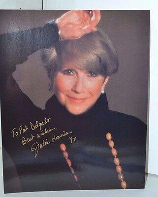 Vintage Jackie Harris Signed Photo 1998 Photography
