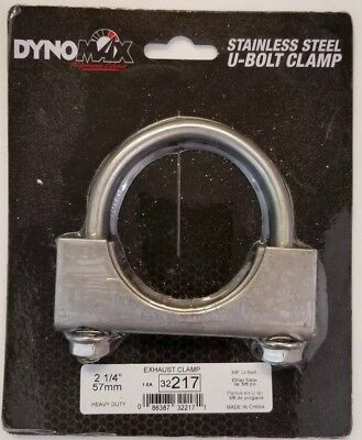 Dynomax 32217 U-Bolt Exhaust Clamp Dynomax U-bolt Clamp