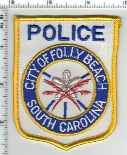 City of Folly Beach Police (South Carolina) 1st Issue Uniform Take-Off Patch