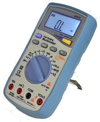 Mastech Ms8209 Auto Range Lux Sound Humidity Multimeter