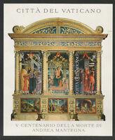 Vaticano - 5° Cent. Morte Andrea Mantegna 2006 Foglietto -  - ebay.it