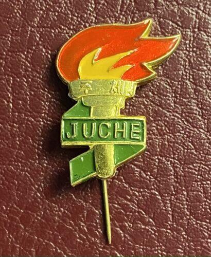 Korea Juche Youth Union Young Communist member lapel pin badge
