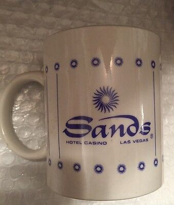 The Sands Hotel And Casino Coffee Mug - Excellent Display Piece