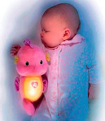 Fisher Price Ocean Wonders Soothe & Glow Seahorse Pink R4342/t6038