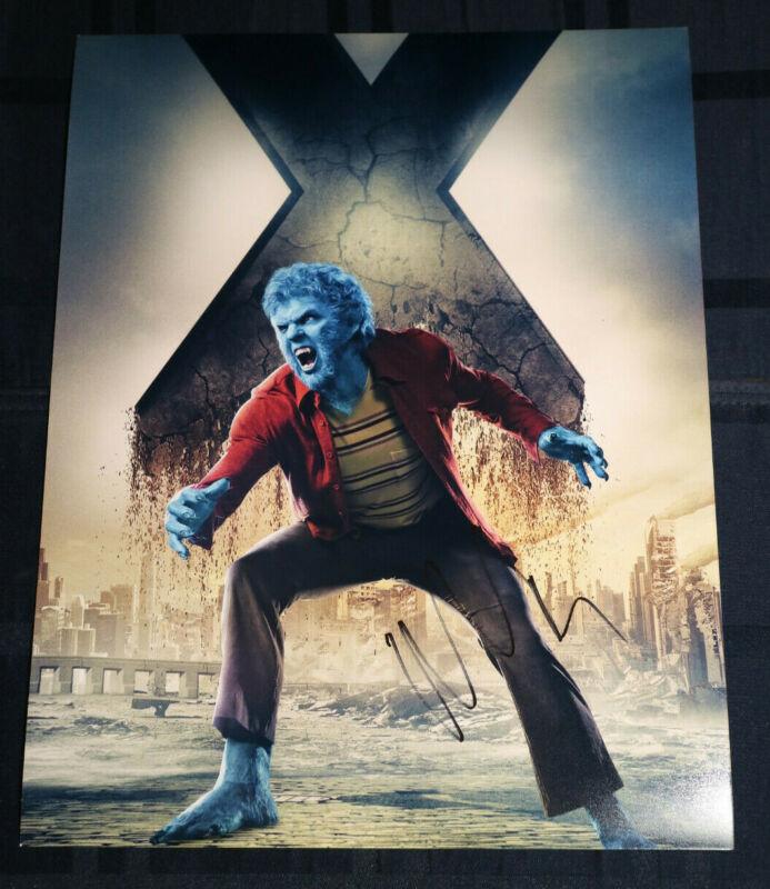 Nicholas Hoult Signed 'X-Men Days of Future Past' 11x14 Photo EXACT Proof COA B