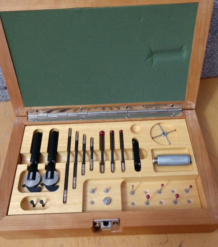 Renishaw Probe TP2 5W in Wooden Box with Many Accessories!