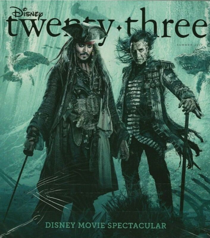 Disney twenty-three D23 Magazine Summer 2017 Pirates of the Caribbean Avatar
