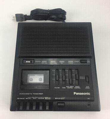Panasonic - Microcassette Transcriber Rr-930 With Foot Pedal Rp-2692