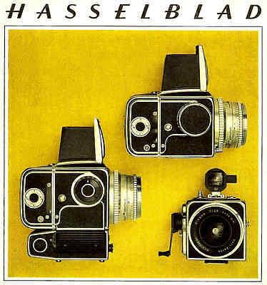 Инструкции и руководства 1967 HASSELBLAD CAMERA