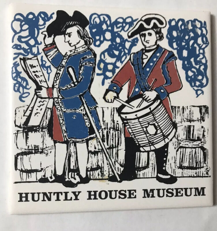 Huntly House Museum Trivet Ceramic Accent Wall Tile 6x6 AA