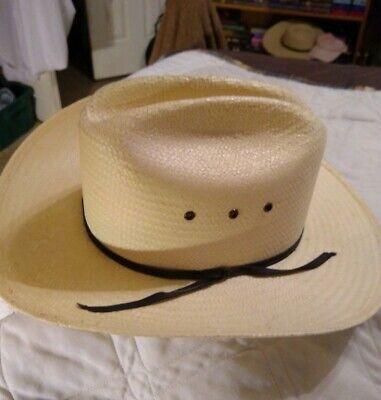 Child Straw Cowboy Hat (Paja Paille 100 percent Straw Cowboy Hat with Black Strap  Child Size)