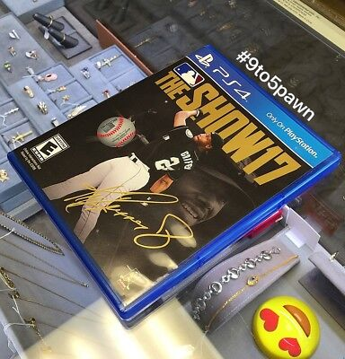 Mlb The Show 17  Sony Playstation 4  Ps4  Baseball   Free Shipping