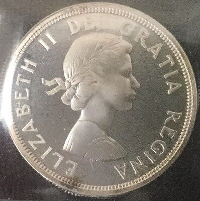 Click now to see the BUY IT NOW Price! CANADA  1964 SILVER DOLLAR ICCS SP 66 HEAVY CAMEO HC  SPECIMEN
