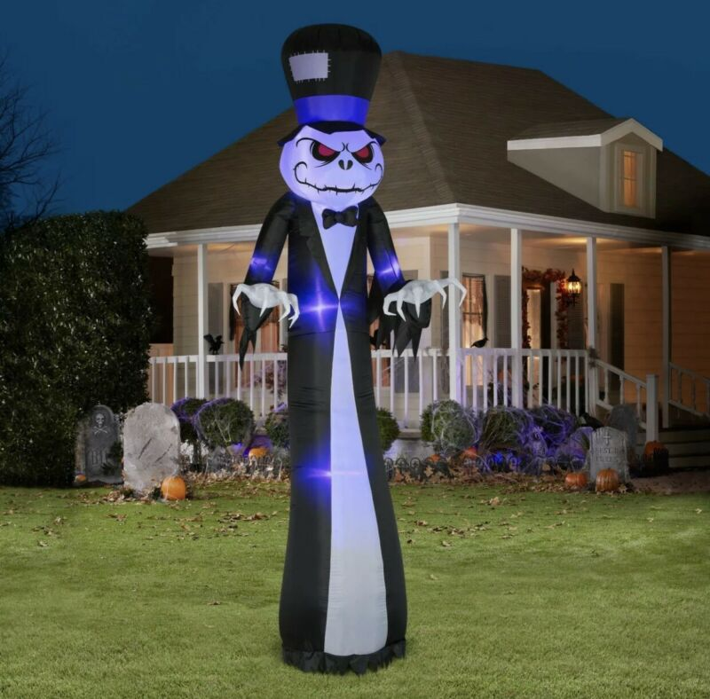 Airblown Inflatable Scary Reaper 12ft tall by Gemmy Industries