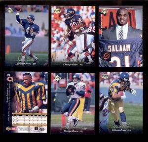 1995-UD-Chicago-Bears-Set-RASHAAN-SALAAM-MARK-CARRIER-STEVE-WALSH-CURTIS-CONWAY
