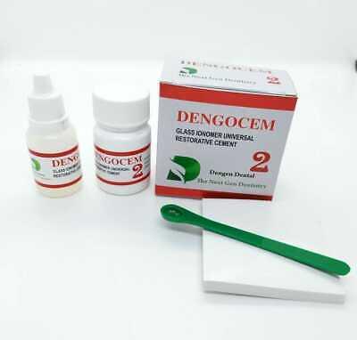 Diy Dental Care Kit Teeth Repair Dental Permanent Cement Filling Kit Box