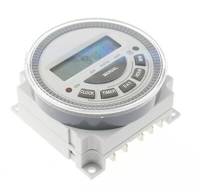 Programmable Timer Switch Relay Digital Lcd Power Weekly Cn304a Ac 220v 5 Pin