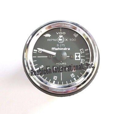 Mahindra Tractor Hour Meter Cum Rpm Gauge Tacho Meter -4023 -7012 -5077