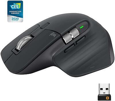 Logitech MX Master 3 Wireless Laser Mouse (Graphite)