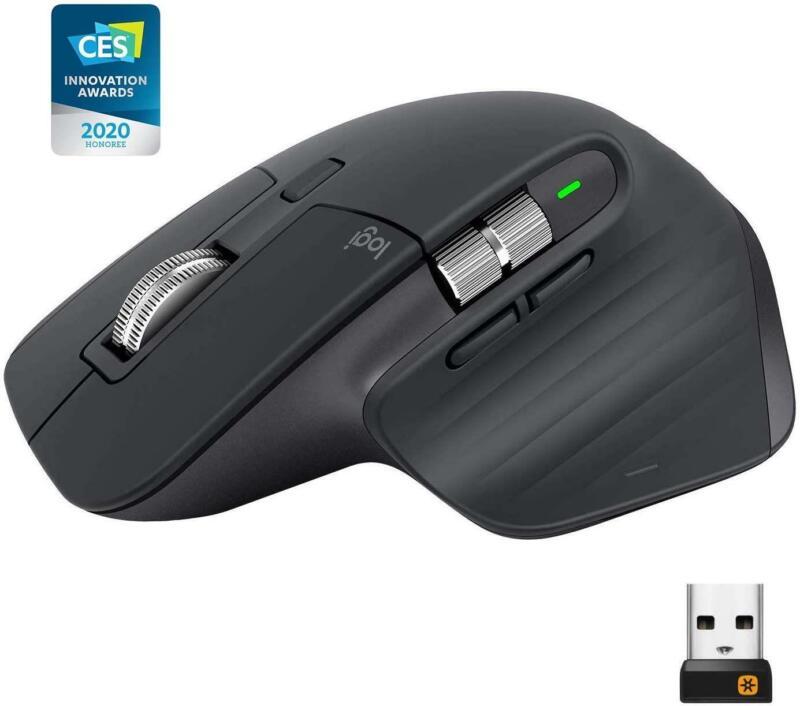 Logitech MX Master 3 Black Wireless Laser Mouse