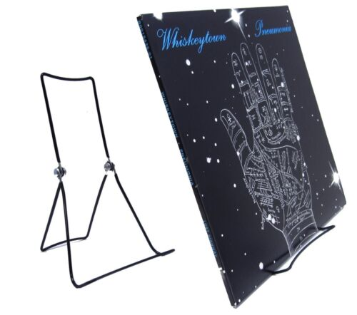 Vinyl Record LP Album Now-Playing/Now-Spinning Display Stand Holder for 1-4 LPs