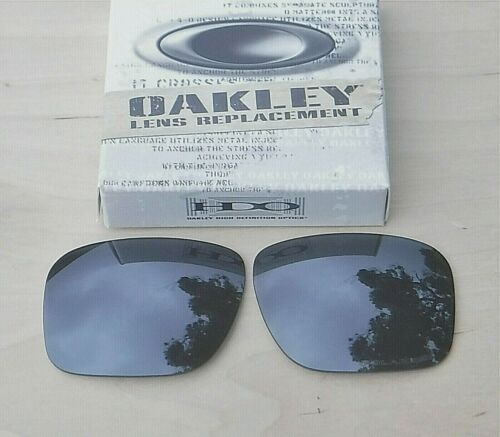 New Authentic Oakley Holbrook Sunglasses Polarized Grey Replacement lens 43-346