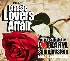 REGGAE LOVERS ROCK CLASSICS LOVERS AFFAIR MIX CD
