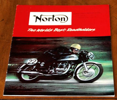 Norton 1964 range brochure Prospekt inc. Manx - excellent!