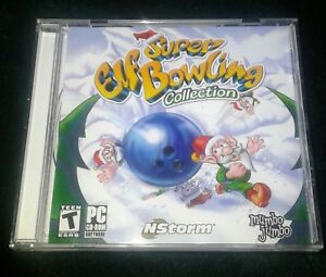 Super Elf bowling collection pc cd rom game ( 2005)