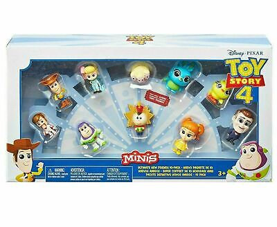Disney Toy Story 4 Minis Ultimate New Friends 10 Pack Action Figures (NEW)