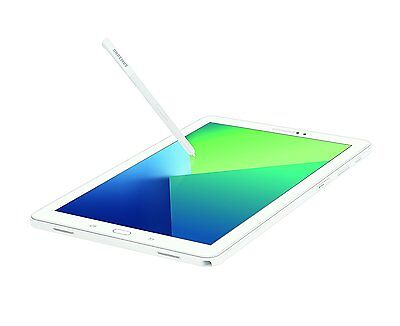 "Samsung Galaxy Tab A 10.1"" 16GB (2016) Wifi Tablet With S Pen White NEW"