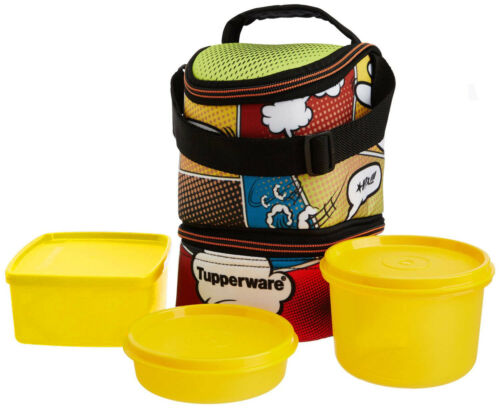 tupperware cool n fab trendy lunch box with new design in. Black Bedroom Furniture Sets. Home Design Ideas