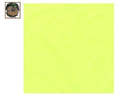 YOU GET  (1) SAFETY NEON GREEN 100% Cotton Bandana (22