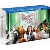 New! The Wizard of Oz 75th Anniversary Limited Edition 3D Blu-Ray/DVD 5-Discs