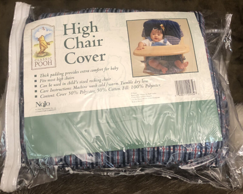 Vintage 1998 Disney Classic Winnie the Pooh  High Chair Cover