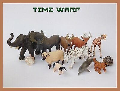 LARGE LOT OF SCHLEICH * SAFARI LTD. * TREEHOUSE KIDS ANIMALS