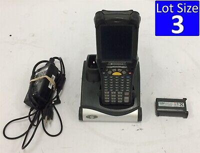 Lot Of 3 Symbol Motorola Mobile Computer Mc9190-ga0swgya6wr 1d Scanner Ce 6.0