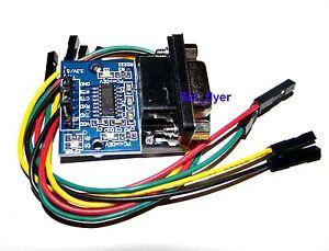 RS232-Serial-Port-To-TTL-Converter-Module-SP3232EEN-5V-3-3V-W-Jump-Cables