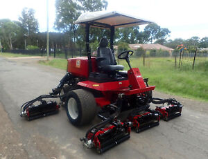 2013 TORO REELMASTER 6700D RIDE ON FAIRWAY CYLINDER REEL GREENS GOLF COURSE LAWN MOWER JACOBSEN Austral Liverpool Area Preview