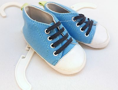 - NEW Baby Blue Shoes Up To 9 Months Bon Bebe Boys Children Footwear